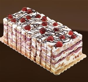 Quaranta Rasberry and Chocolate Nougat 150g