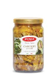 Iposea Roasted Artichokes in Sunflower Seed Oil 1600g