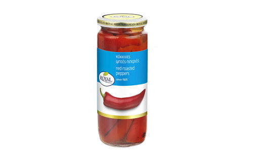 Royal Red Roasted Peppers 465g