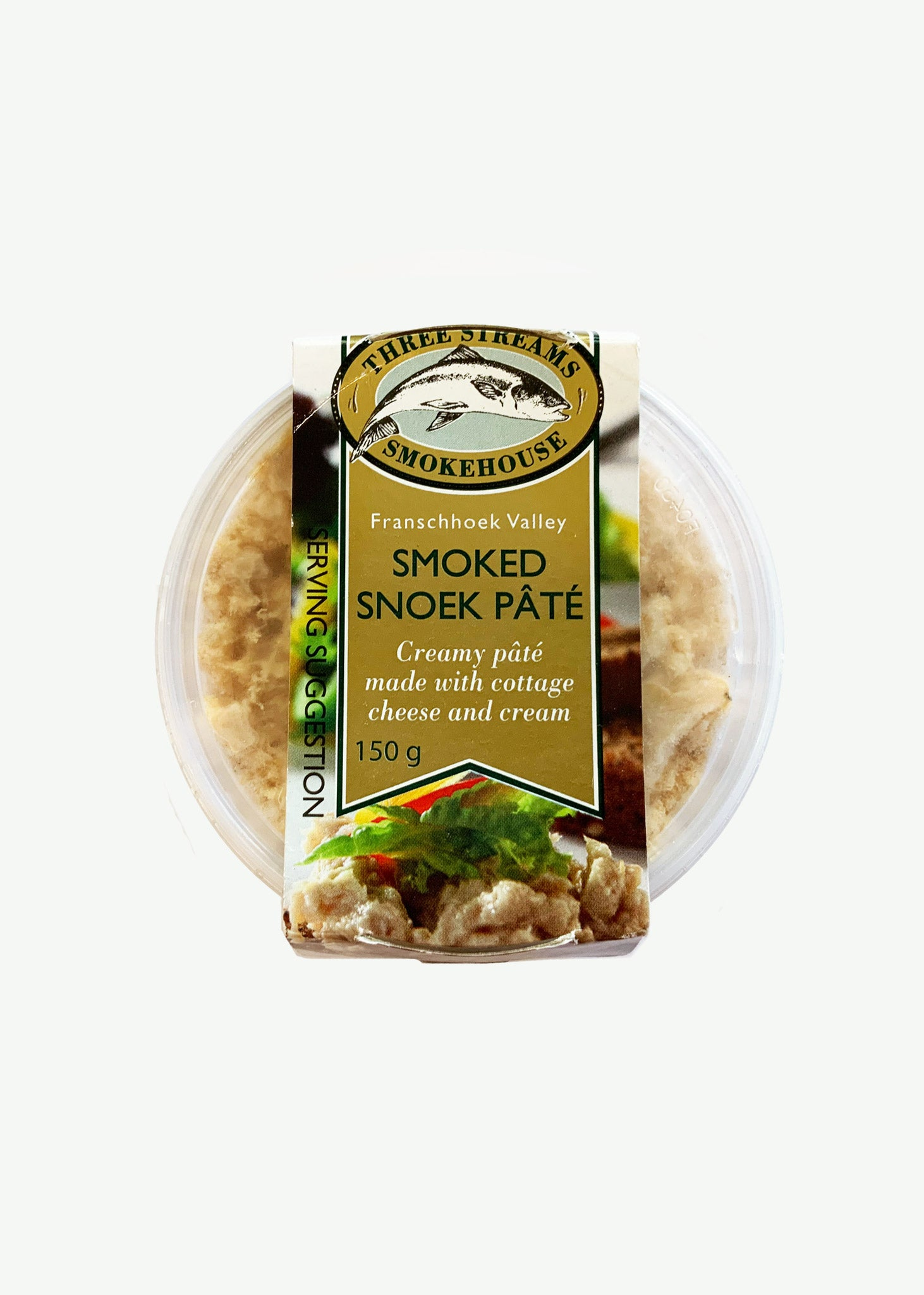 Three Streams Oak Smoked Snoek Pate 150g