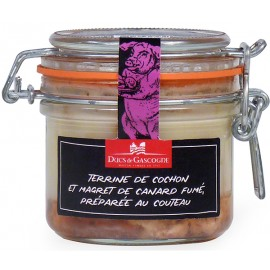 Pork Terrine and Smoked Duck Breast Ducs de Gascogne 180g