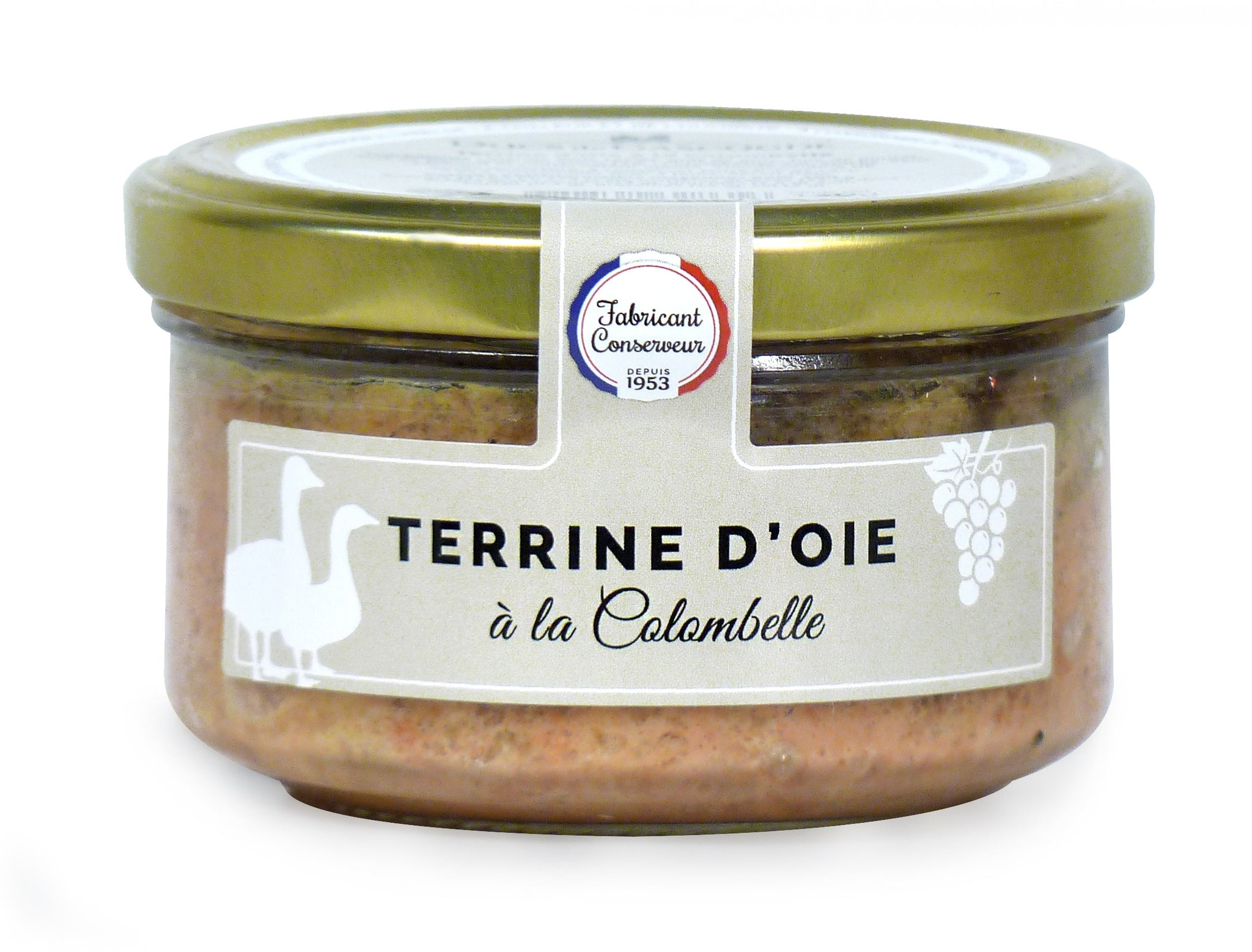 Goose terrine with Colombelle wine Ducs de Gascodge 130g