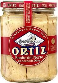 Conserva Ortiz Bonito del Norte (Tuna Chunks in Olive Oil)