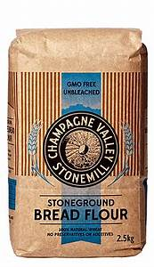 Champagne Valley Stoneground  Bread Flour 2.5kg