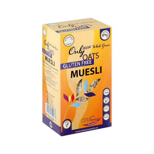 Wholesome Earth Gluten Free Muesli 300g