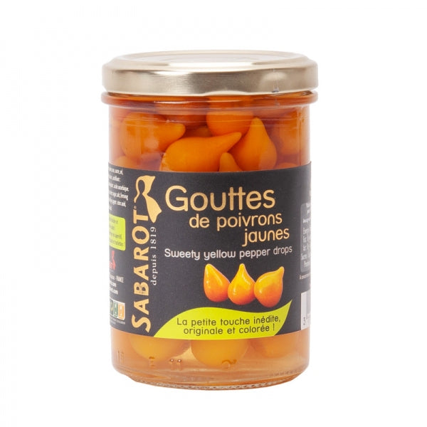 Sabarot Gouttes (Sweet yellow pepper drops ) 190g