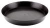 14 inch round saucers, strong and durable, for use in the HOME GARDENER, the best complete indoor grow system by Smooth Home Growing.