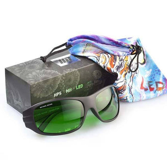 Grower Protective Eye Wear Method 7 LED Glasses