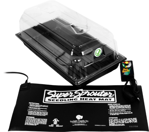 The SuperCloset Total Germination Package is a super effective germination kit to get seedlings and clones growing strong.