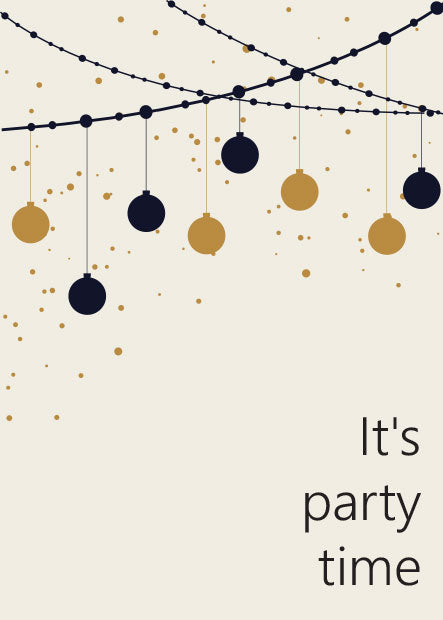 """Party Time"" Gift Card"