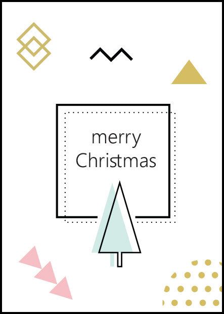 """Merry Christmas"" Gift Card"