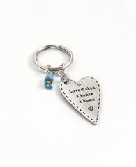 Heart & Home Key Ring