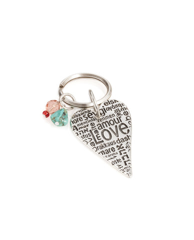 Love Language Key Ring
