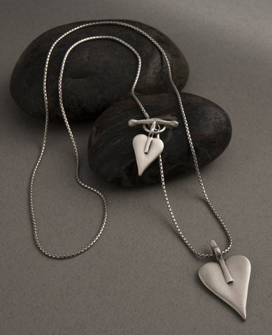 Signature Heart Double Necklace