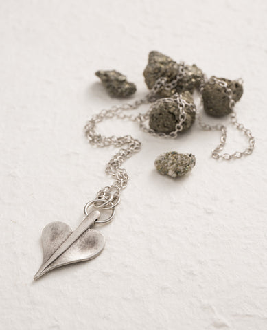 Leaf of Love Long Necklace