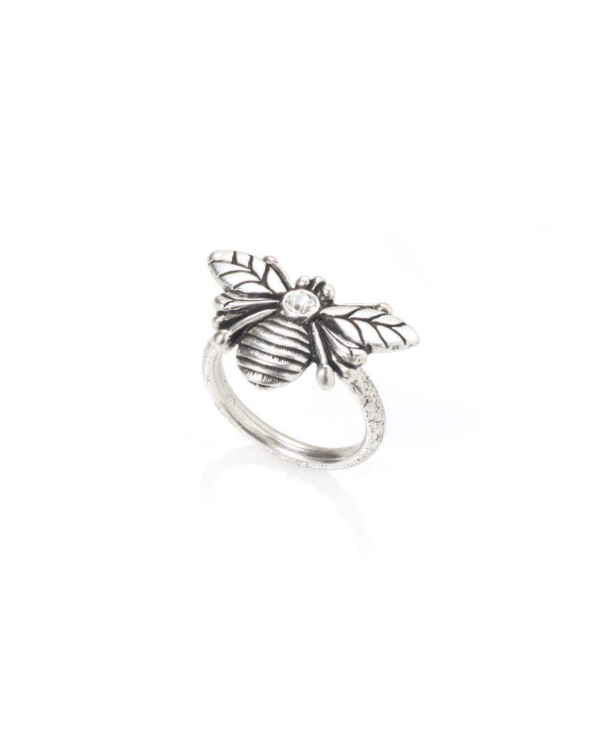 Honey Bee Ring Silver