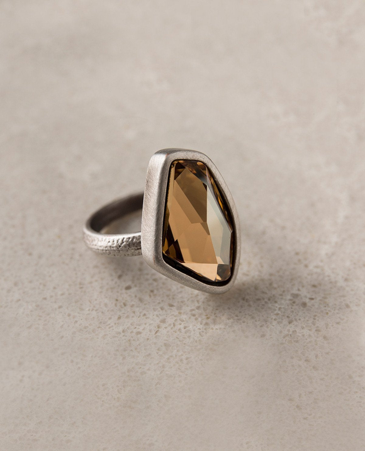 Mini Crystal Clear Ring