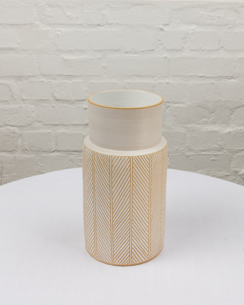 Herringbone Vase Medium
