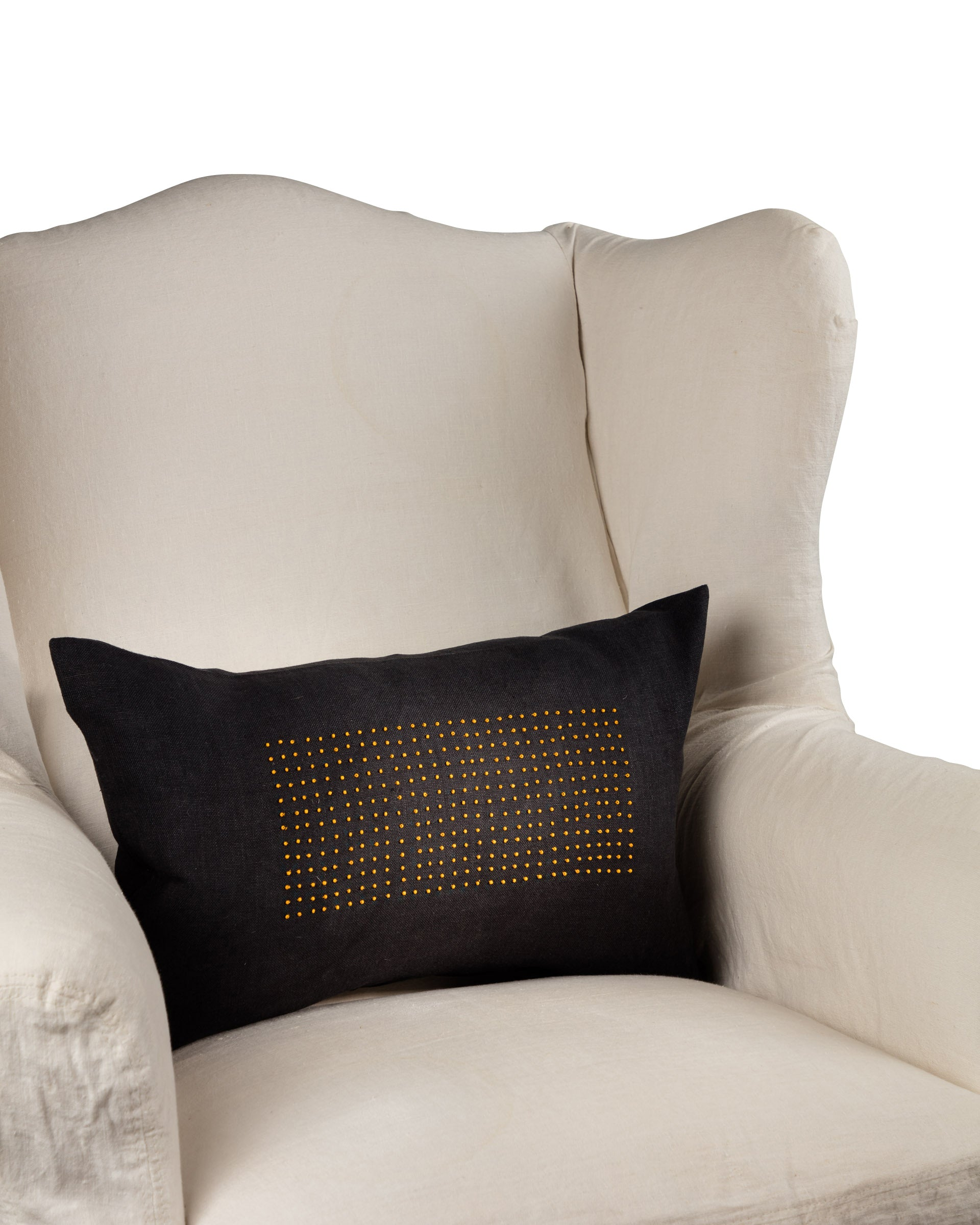 Mustard Seed Throw Cushion