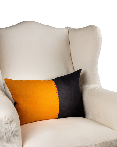 Colour Block Throw Cushion