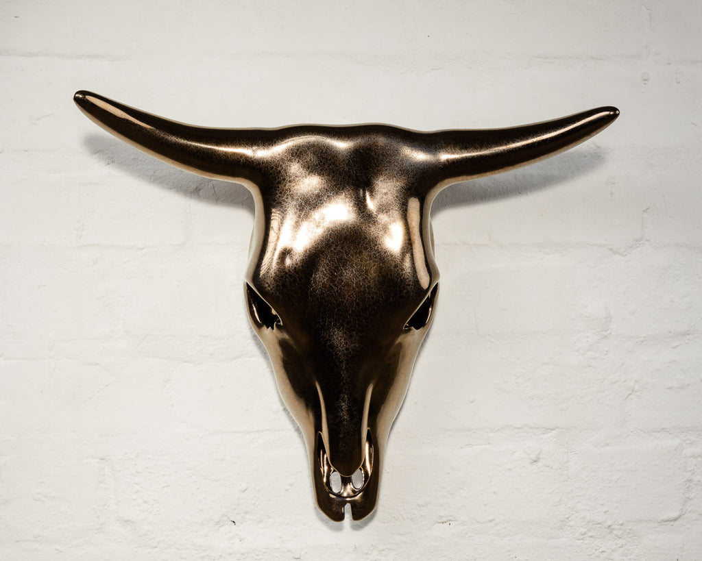 Bronze Nguni Wall Hanging