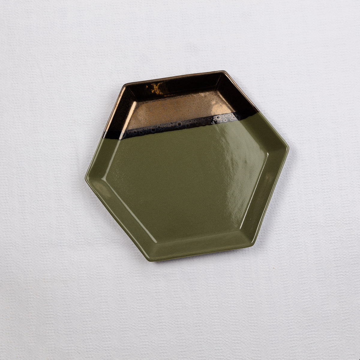 Hexagon Dinner Plate