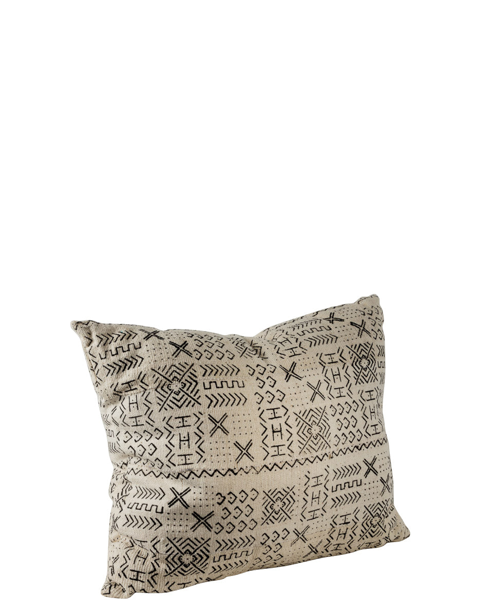 W&B Bogolan Cushion