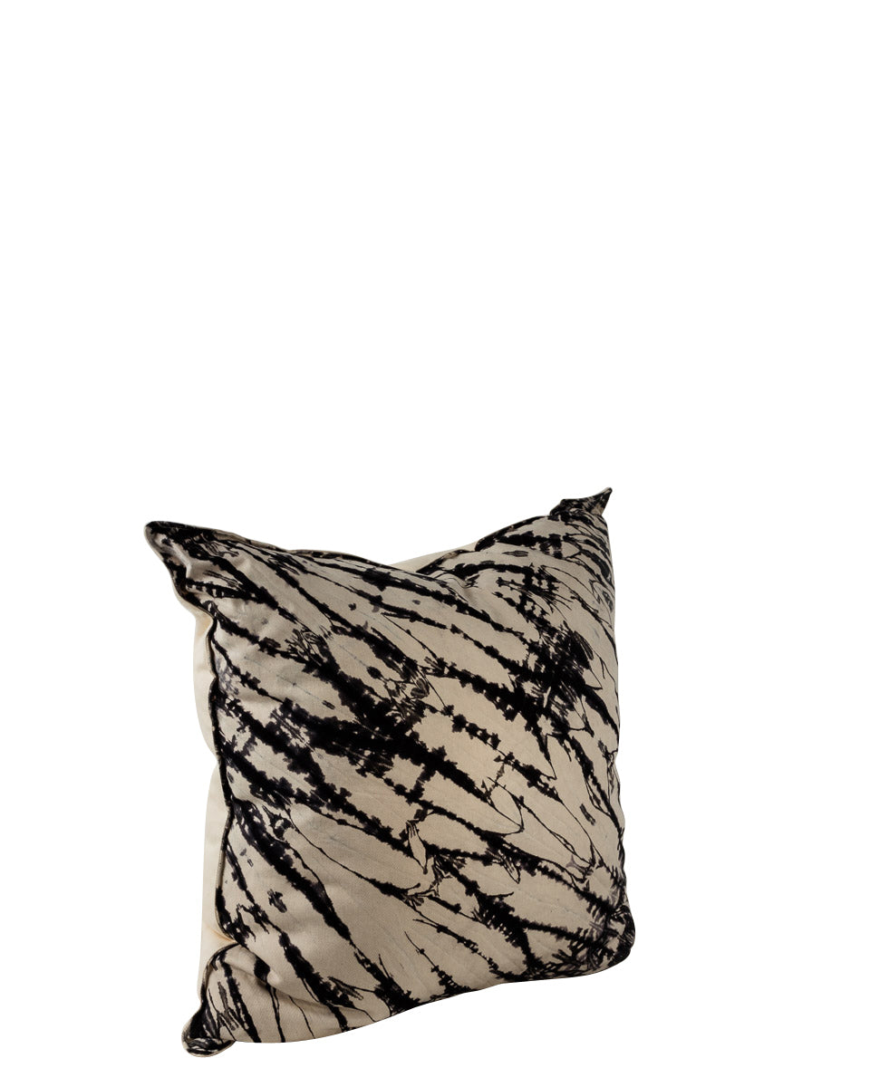 W&B Shibori Printed Cushion