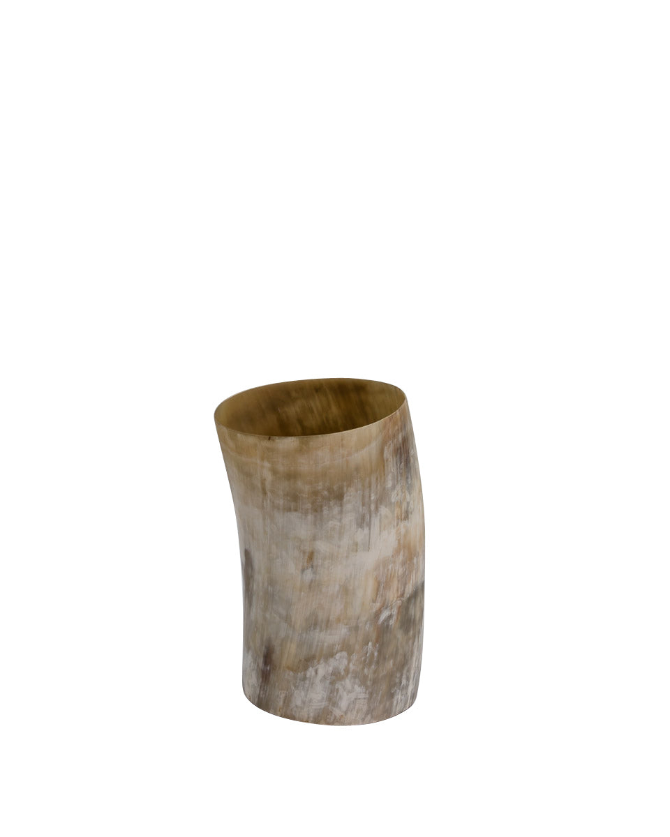 Natural Horn Decorative Vessel