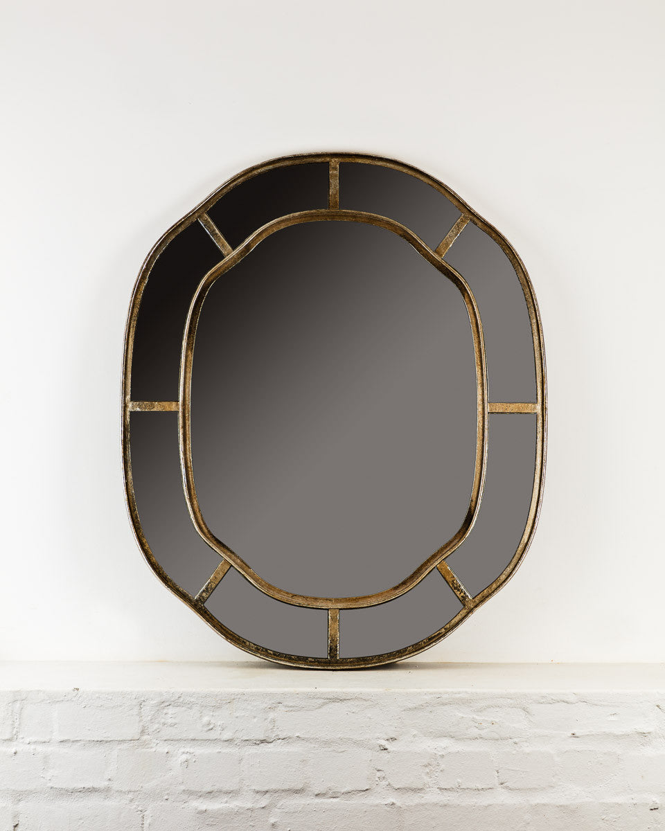 Scalloped Edge Mirror