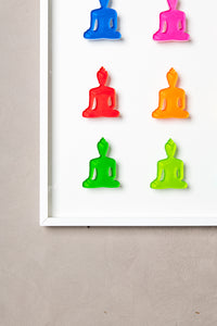 Buddha wall art - Nine No 2