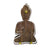 Contemporary Buddha Statue Wood and Plexiglas