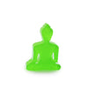 Buddha statue set of 3 - Neon Pink, White and Neon Green