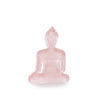 Mini / Medi Buddha statue - Contemporary Meditating light pink Buddha