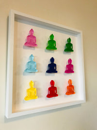 Buddha wall art - Nine No 3