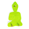 Contemporary Neon Yellow Buddha Statue