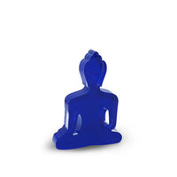 New Mini/Medi Buddha statue - Contemporary Meditating Dark Blue Buddha