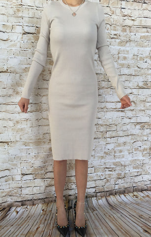 Long Knitted Dress