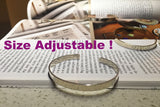 5.5 Thickness Simple Silver Bracelet