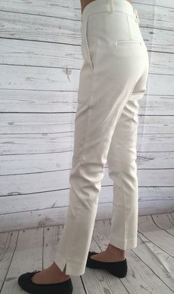 White Formal Pants