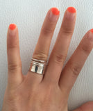Thick 925 Sterling Silver Ring