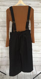 Cute Jumpsuit (Black and Gray)