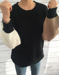 Alternate Arm Sweater