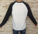 Two Colour Casual Sweatshirt
