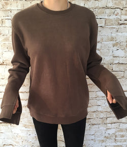 Loose Arm Winter Sweatshirt