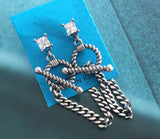 Silver Fashionable Earring