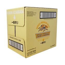 Kirin Ichiban Beer Large Bottles 500ml (Case of 12 Units)