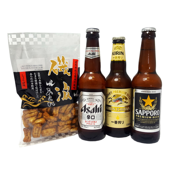 Japanese Beer Tasting Selection Set | SakeStore