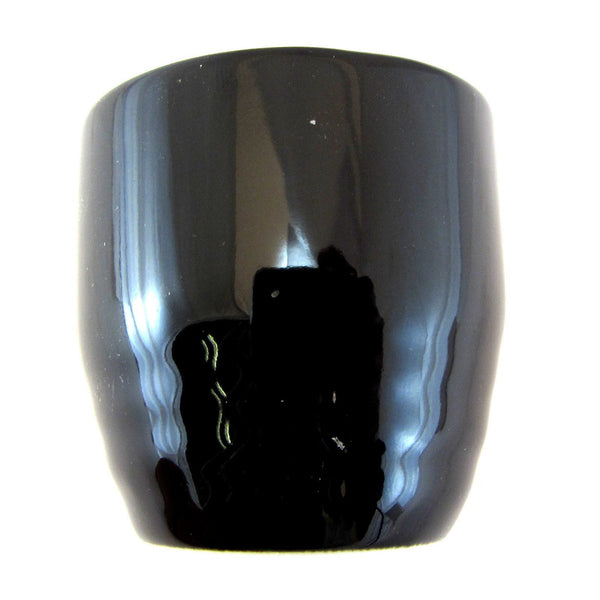 Sake Cup - Black Ceramic 130ml