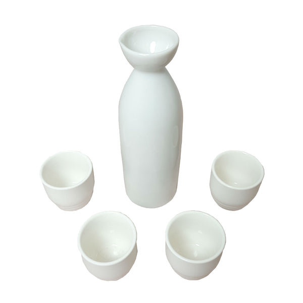Sake Drinking Set - White | SakeStore